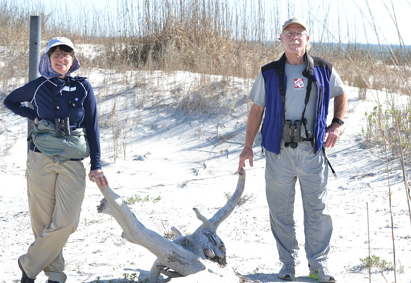 Gary and Sharon at Little Talbot Island State Park